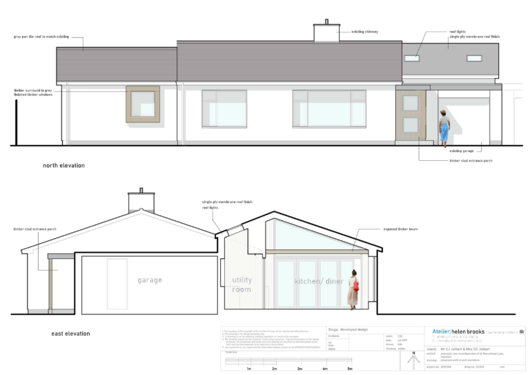 contemporary bungalow extension penzance